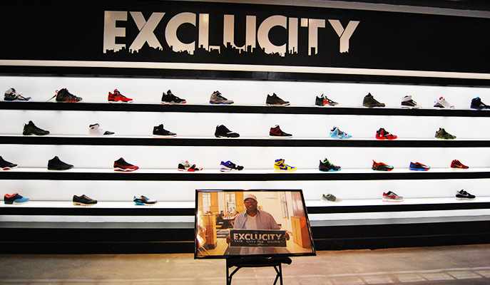 Talking with Nike s Gentry Humphrey at Exclucity s new store ... d3f07c292