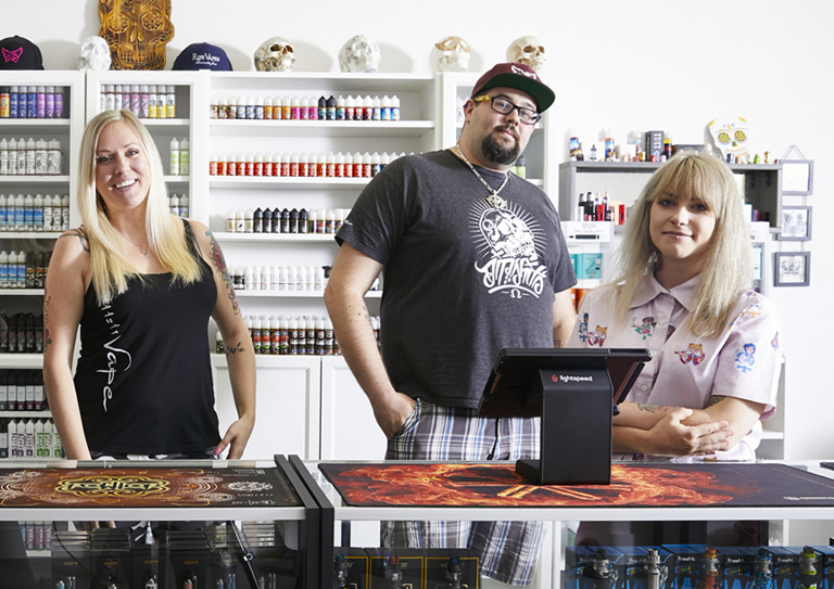 The vape shop ePOS with powerful inventory management