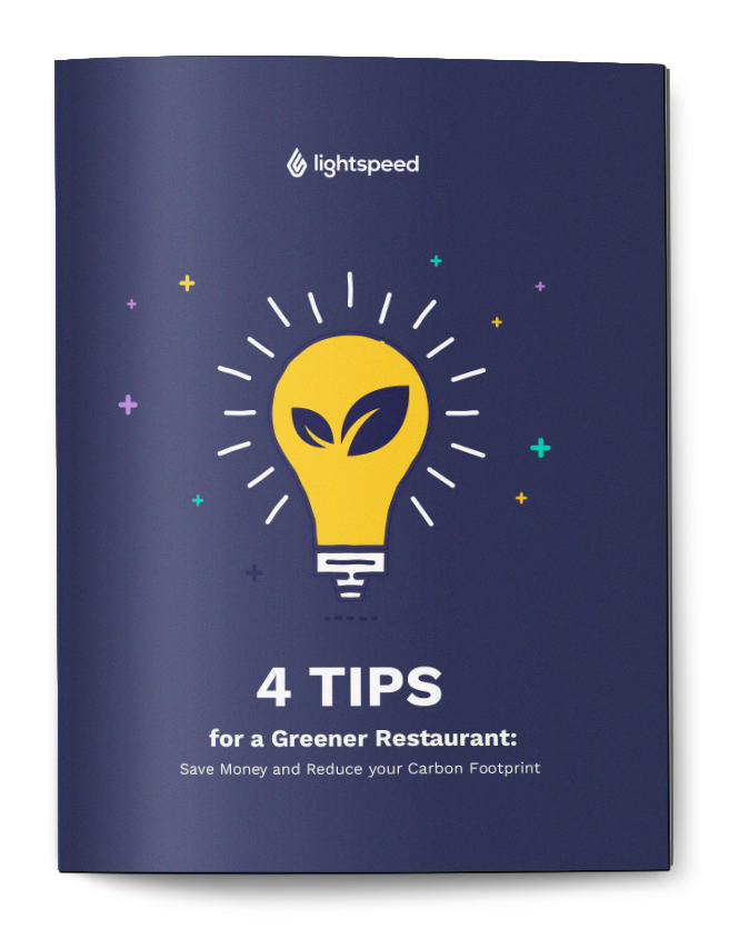 4 tips for a greener restaurant - save money and reduce your carbon footprint
