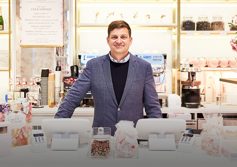 The bakery and cafe ePOS <br/> for boosting efficiency