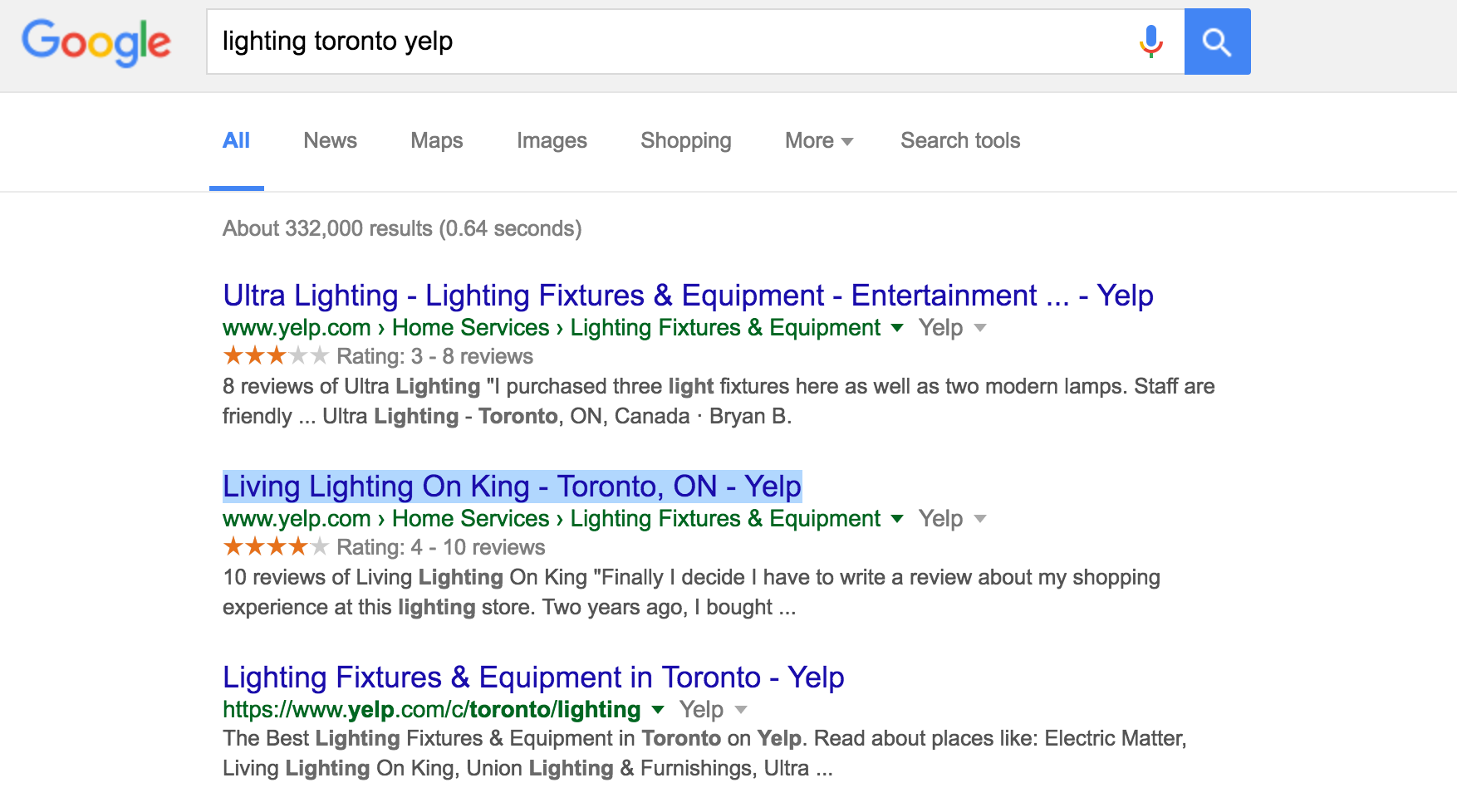 Lighting-Toronto-Yelp