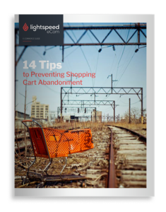Shopping cart abandonment white paper cover