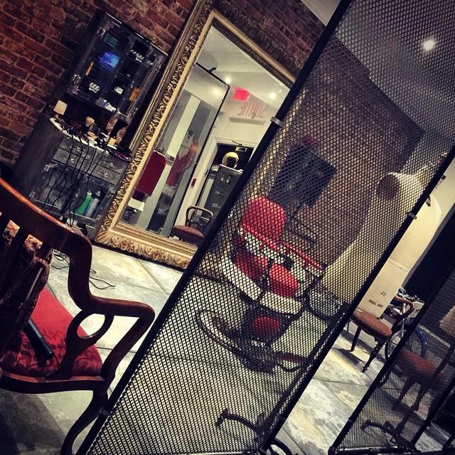 Inside of a Lightspeed POS customer barbershop