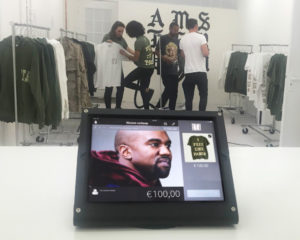 Lightspeed POS used in Kanye's pop up shop