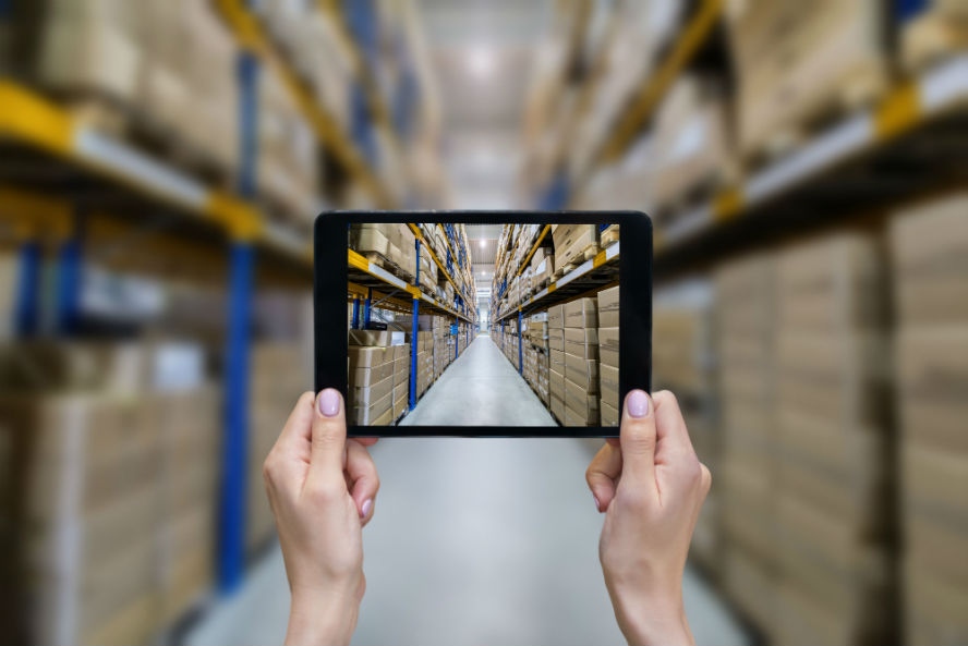 Manage your warehouse from iPad