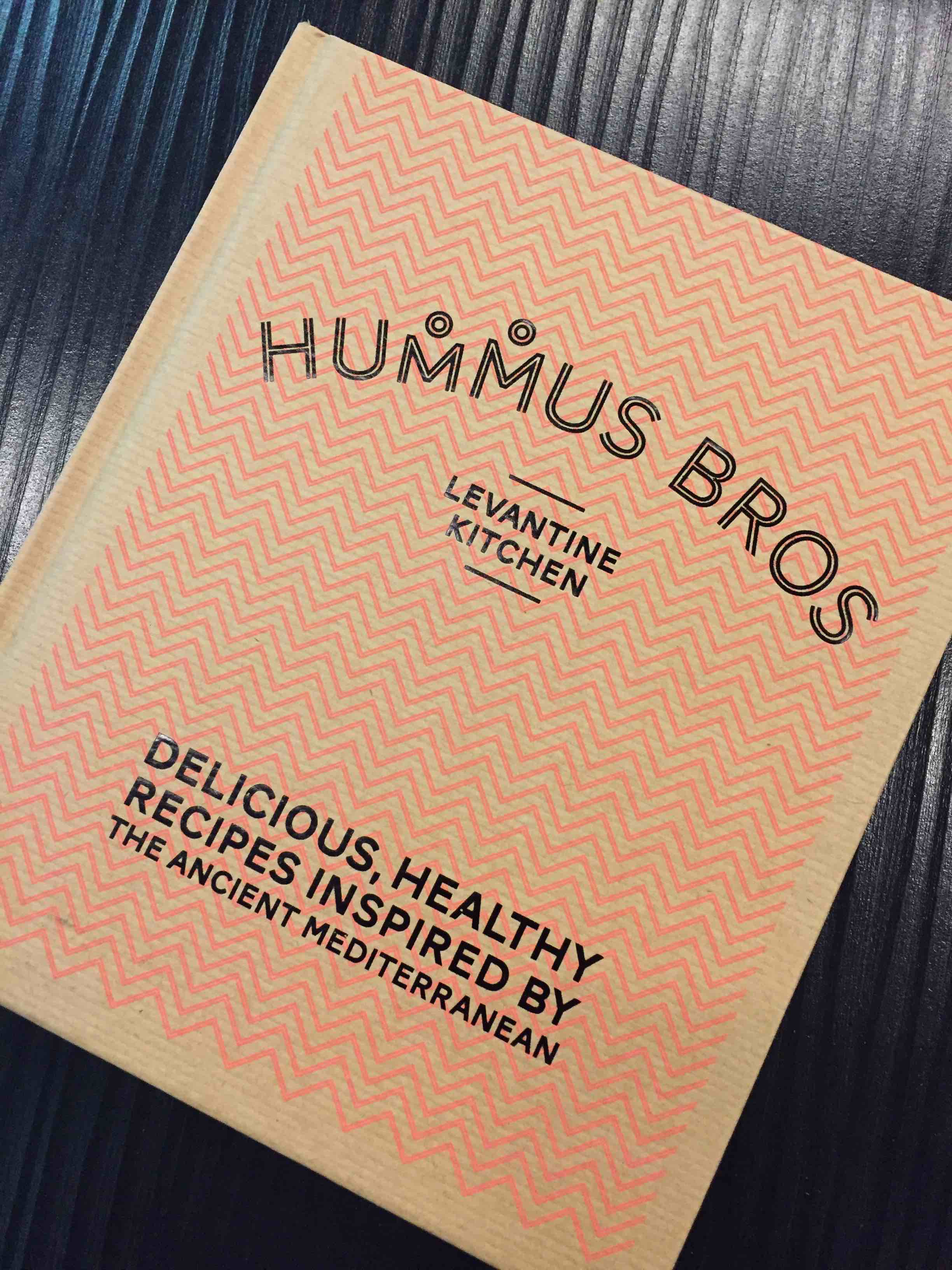 Hummus Bros cookbook