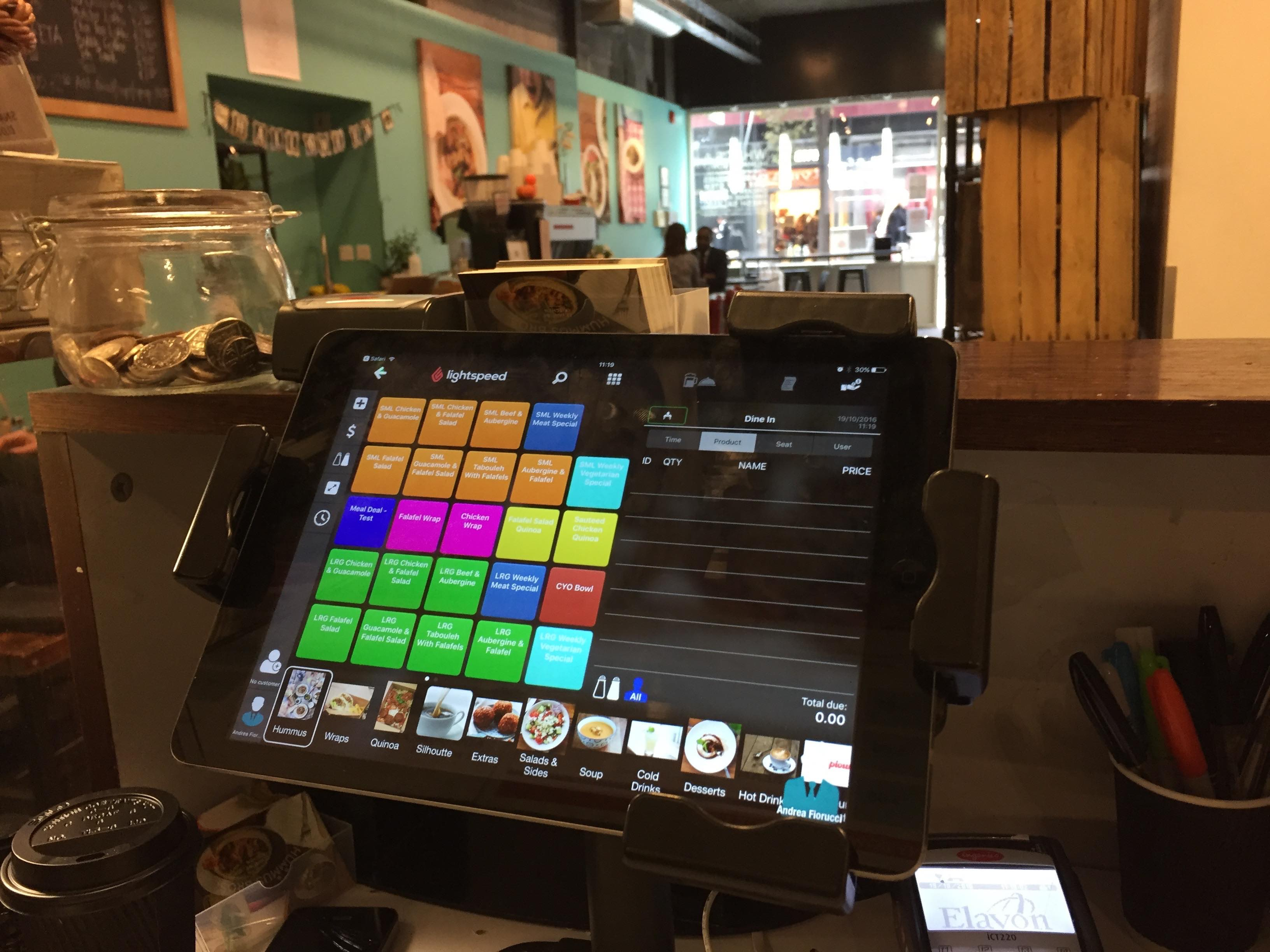 Hummus Bros using Lightspeed Restaurant's iPad POS