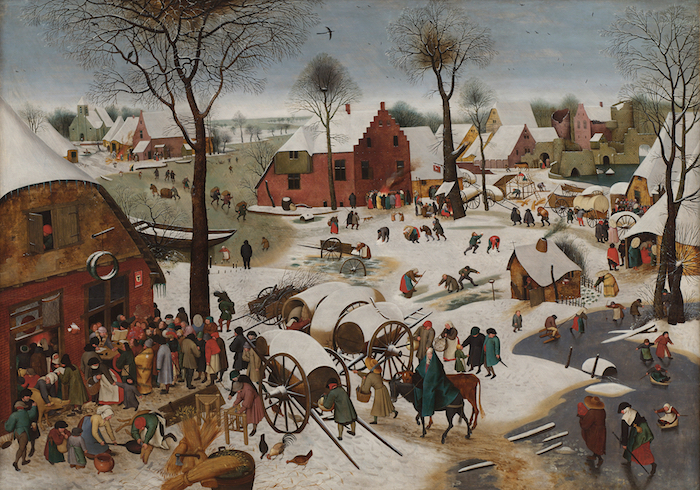 17th century christmas village