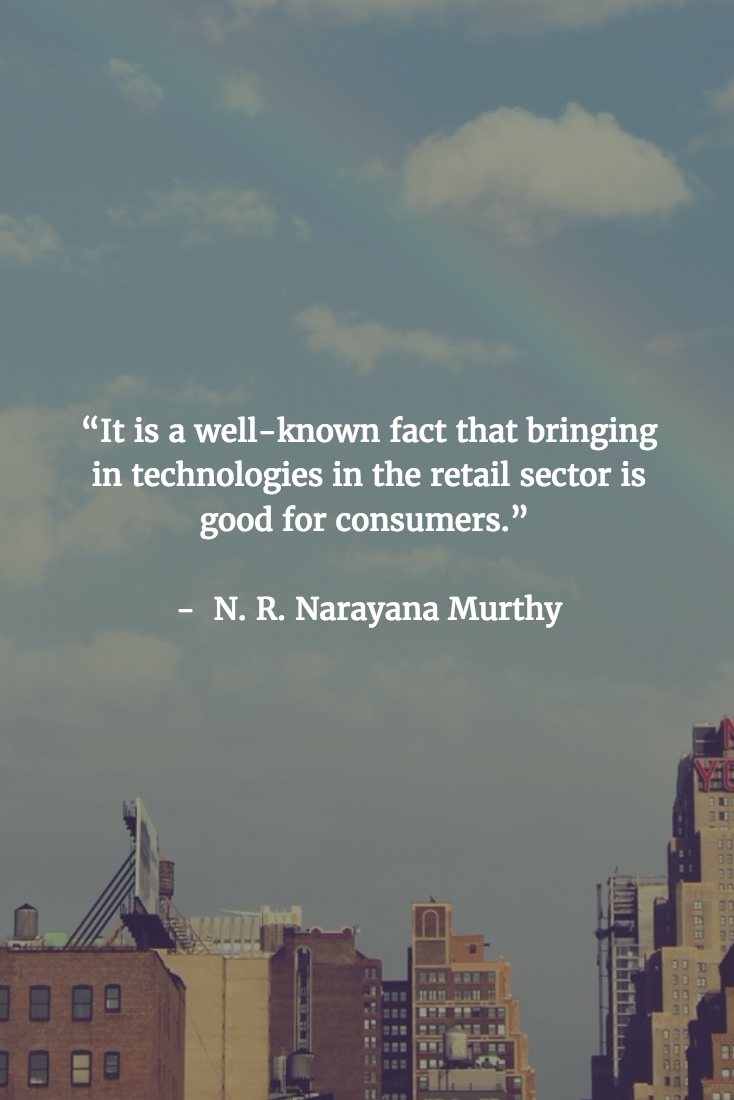 Retail Quotes - N. R. Narayana Murthy