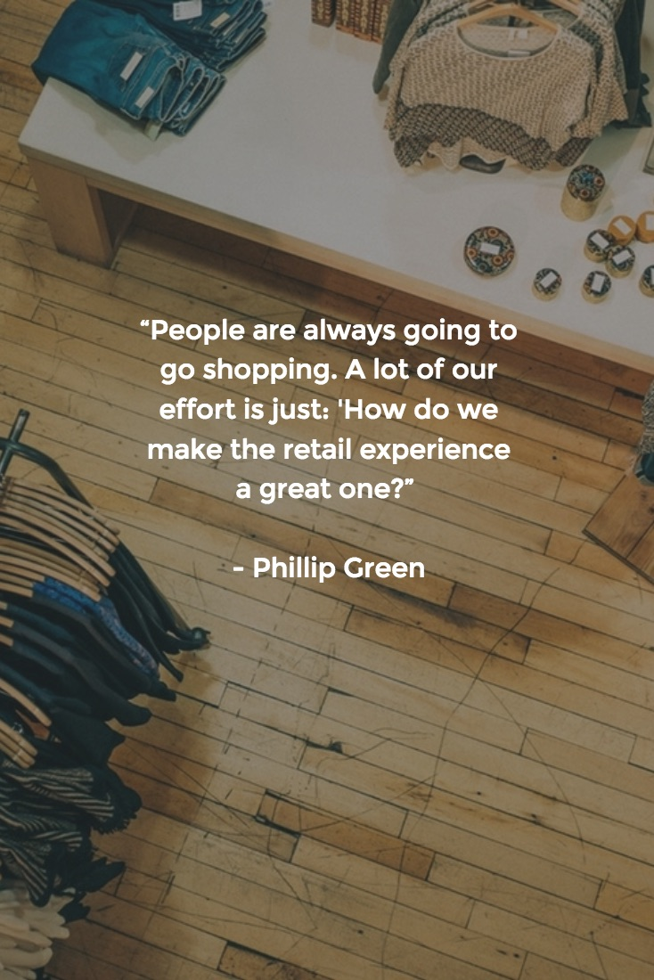 Retail Quotes - Phillip Green