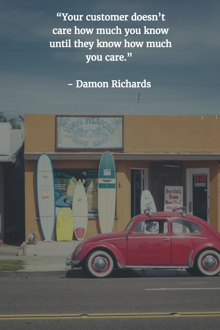 Retail Quotes - Damon Richards