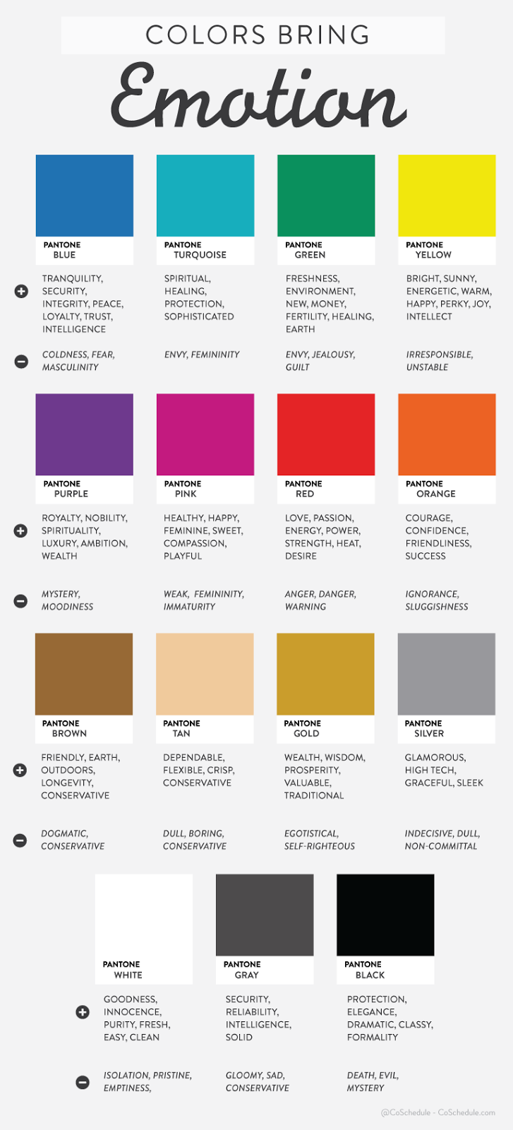 Guide to colors