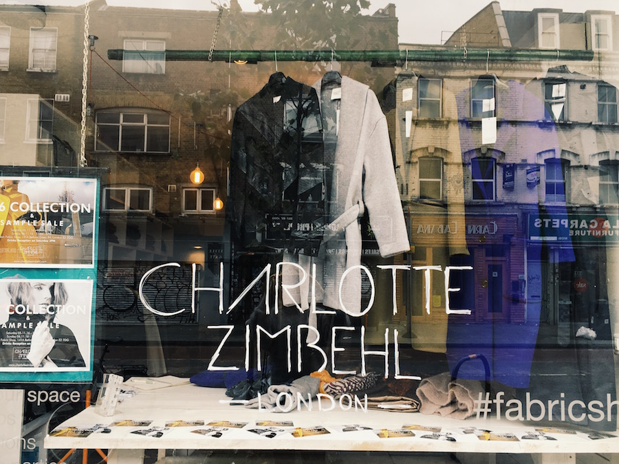 Charlotte Zimbehl pop-up Notting Hill
