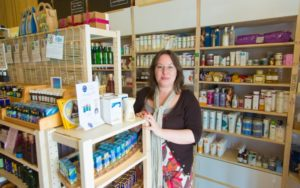 Rebecca Rivers, store owner of Rivers Remedies