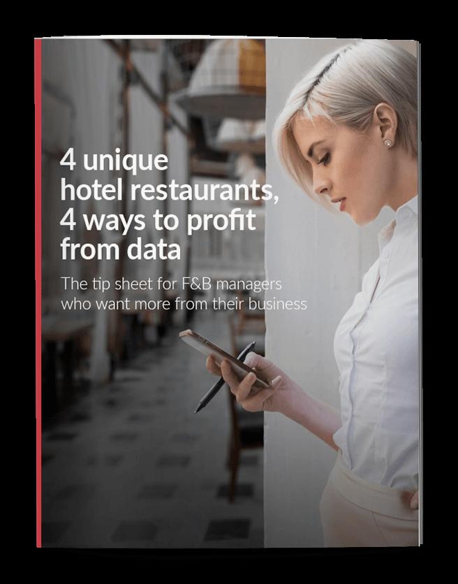 4 unique hotel restaurants, 4 ways to profit from data