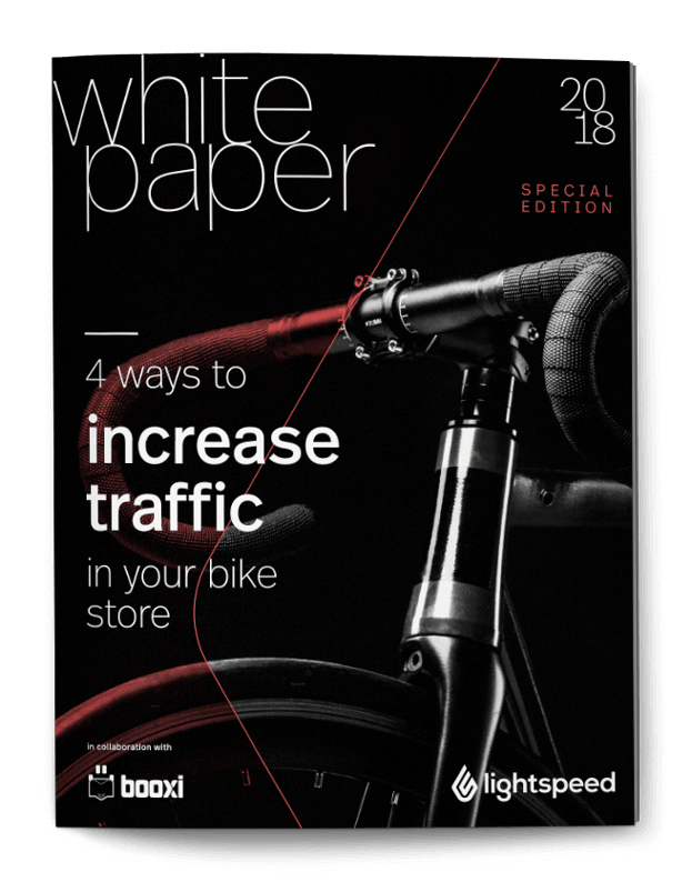 4 ways to increase traffic in your bike store