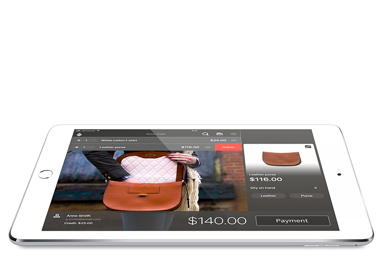 The iPad POS system to sell where your customers are ready to buy