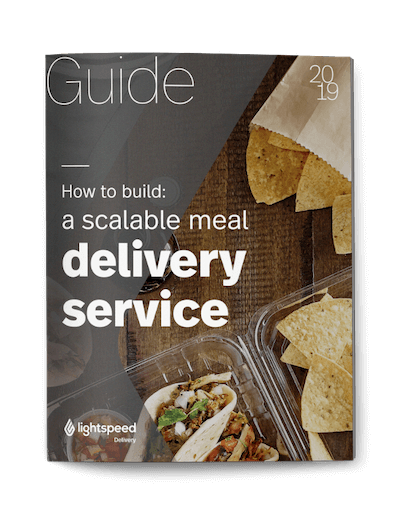 How to build a scalable meal delivery service
