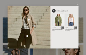 Shop the look instagram feature for your online store with Lightspeed's Voila theme