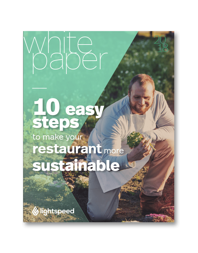 10 easy steps to make your restaurant more sustainable