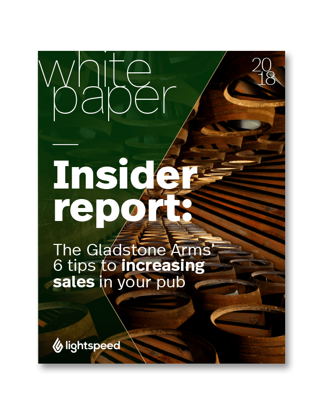The Gladstone Arms' 6 tips to increasing sales in your pub
