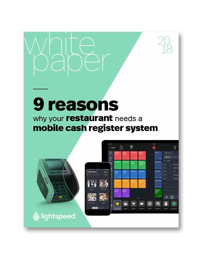 9 reasons why your restaurant needs a mobile cash register system
