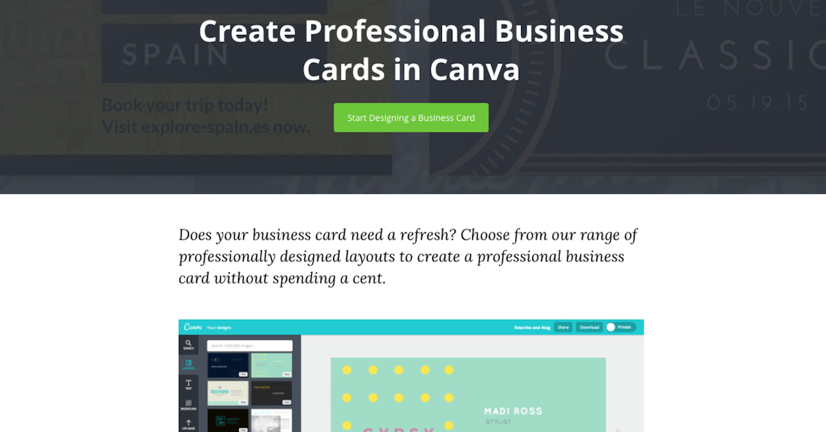 How To Create The Perfect Business Card Lightspeed Pos