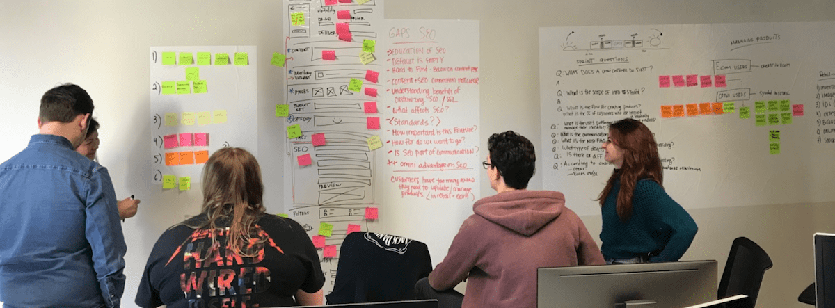 A design sprint and a new and improved product page | Lightspeed POS
