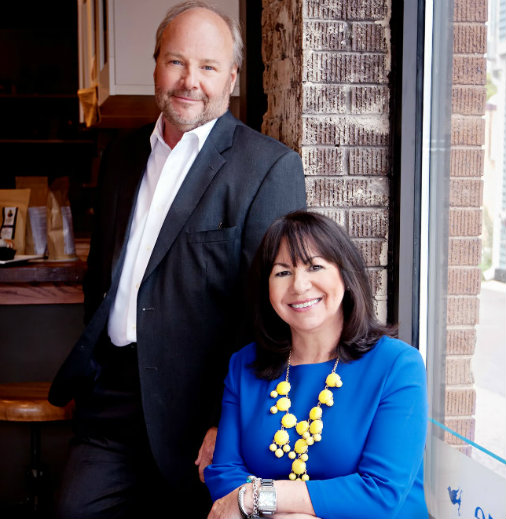 Rich Kizer and Georganne Bender, retail experts