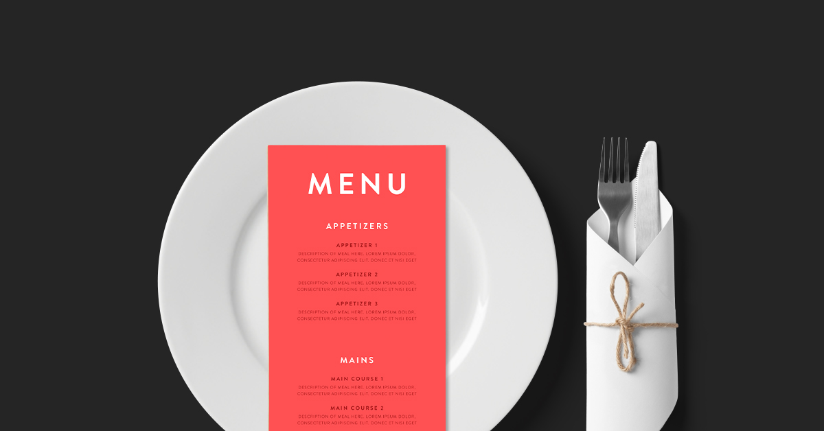 Restaurant Menu Design The Ultimate Guide With Templates