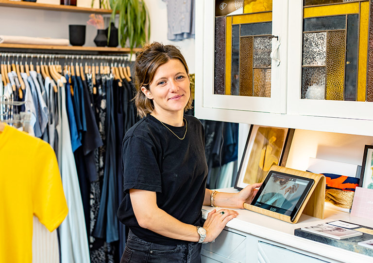 The fashion retail POS that helps you sell online and off