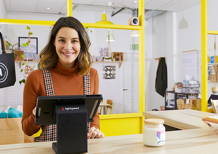 The home decor POS designed for both in-store and online sales