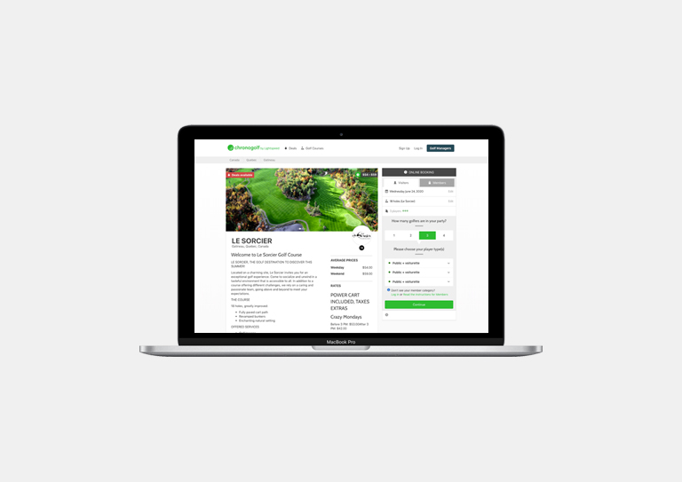 Online Booking Anywhere, Anytime