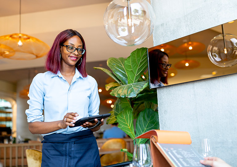 The hotel restaurant POS system designed for flexible customer service