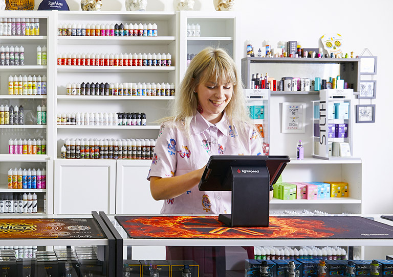 The vape shop POS system that helps manage your entire business