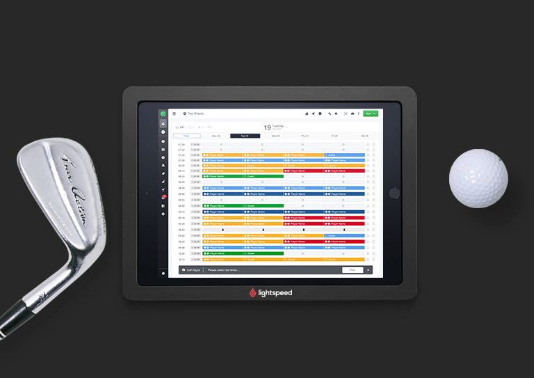 Your all-in-one golf course management system