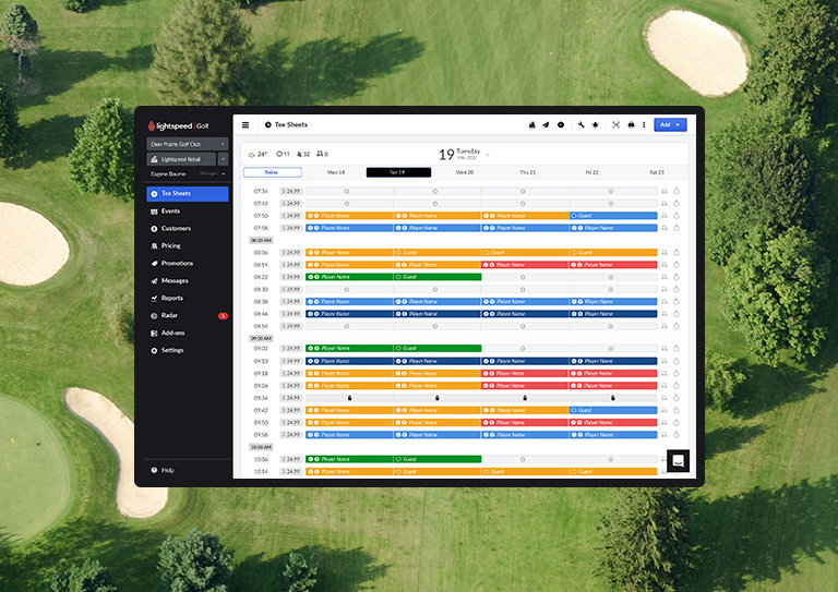 The all-in-one solution tailor-made for semi-private golf courses