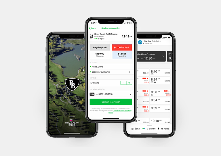 Enter the modern era of golf with a custom mobile application