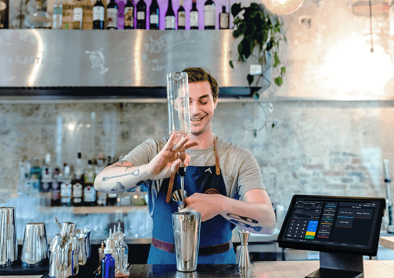 The bar and pub ePOS built to handle unlimited orders