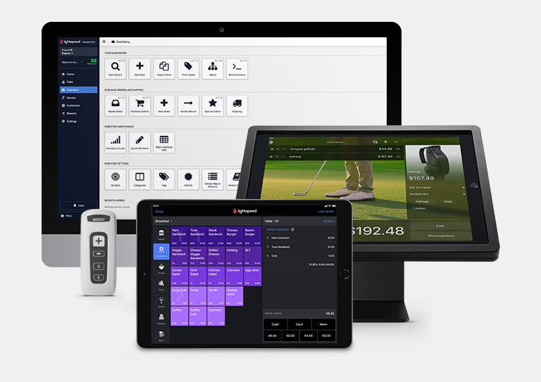 The golf industry's most powerful POS