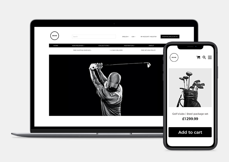 Revenue-generating eCommerce tools built for your golf course