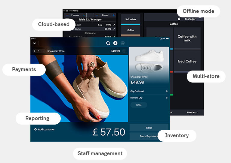 Future-proof your business with the cloud-based ePOS cash register
