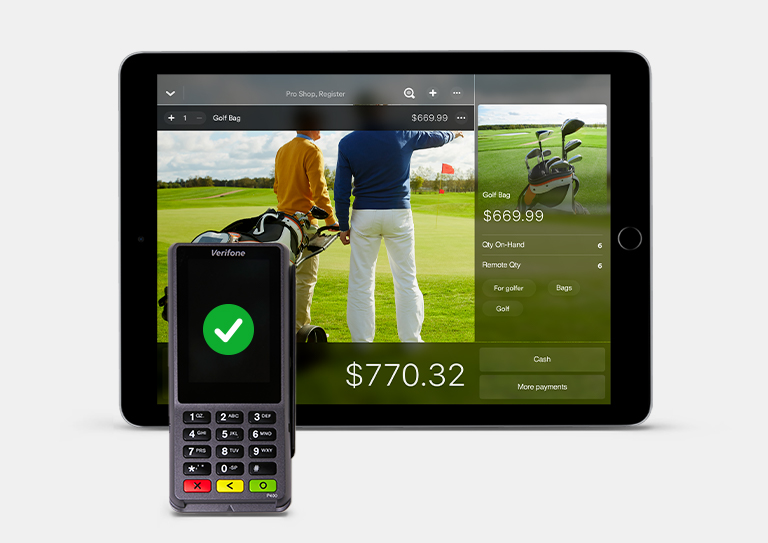 The most powerful golf course management system, now with payments