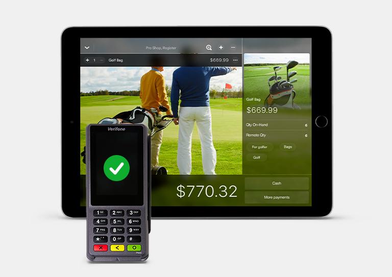 最强大的高尔夫球场管理系统,现在有付款