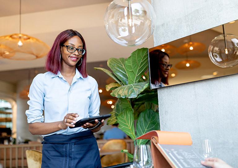 The hotel restaurant ePOS system designed for flexible service