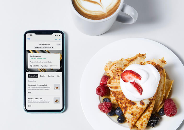 Serve your guests – no matter where – with Lightspeed Order Anywhere