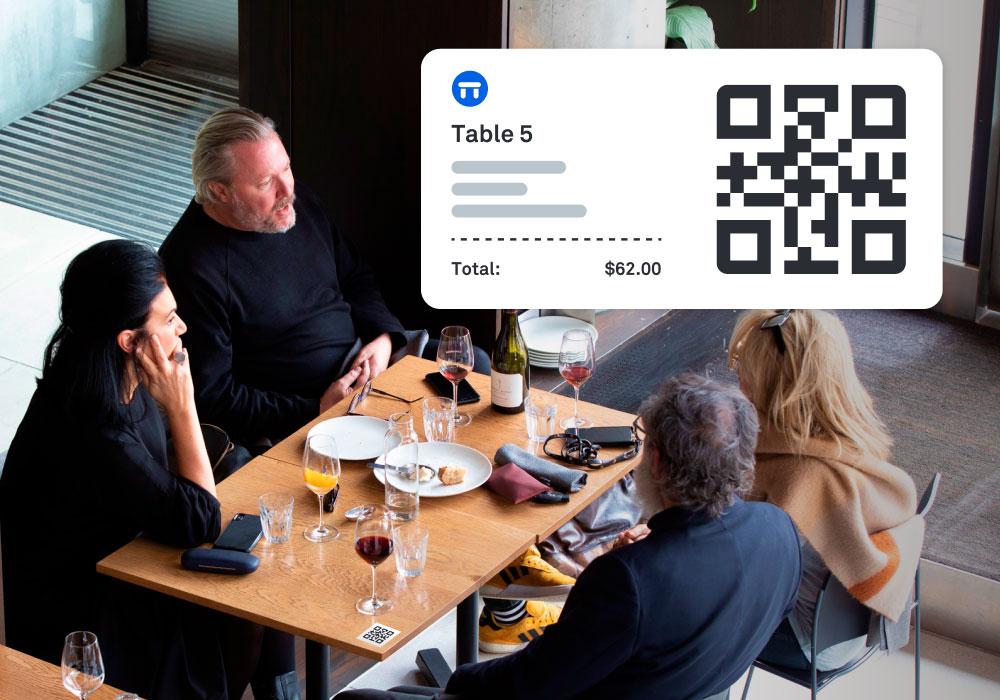 Order at table