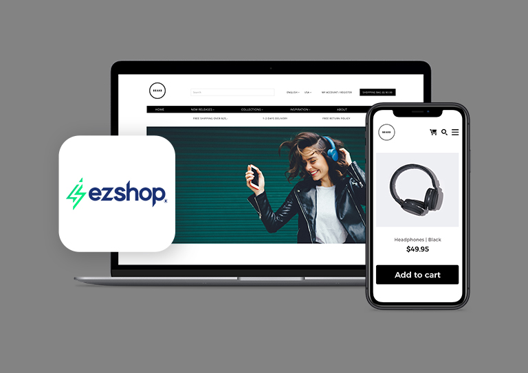 Bring your brand to life with an optimized eCommerce store