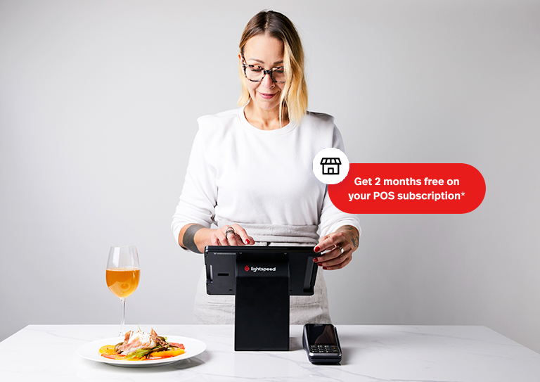 Get 2 months free POS subscription with Lightspeed